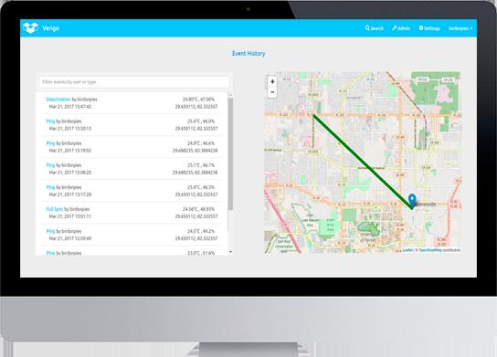 introtech verigo cloud tracking location