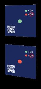 descend temperature indicator activation