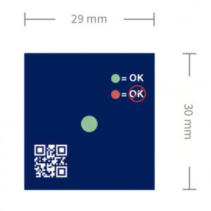descend temperature indicator dimensions