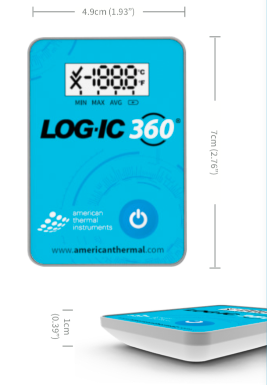 LOGIC 360 datalogger dimensions introtech